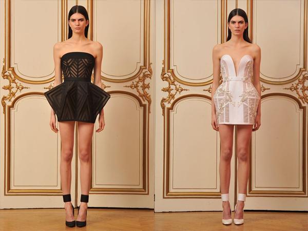 crna mini haljina i bela mini haljina slika 4 Proleće i leto na modnim pistama: House of Worth