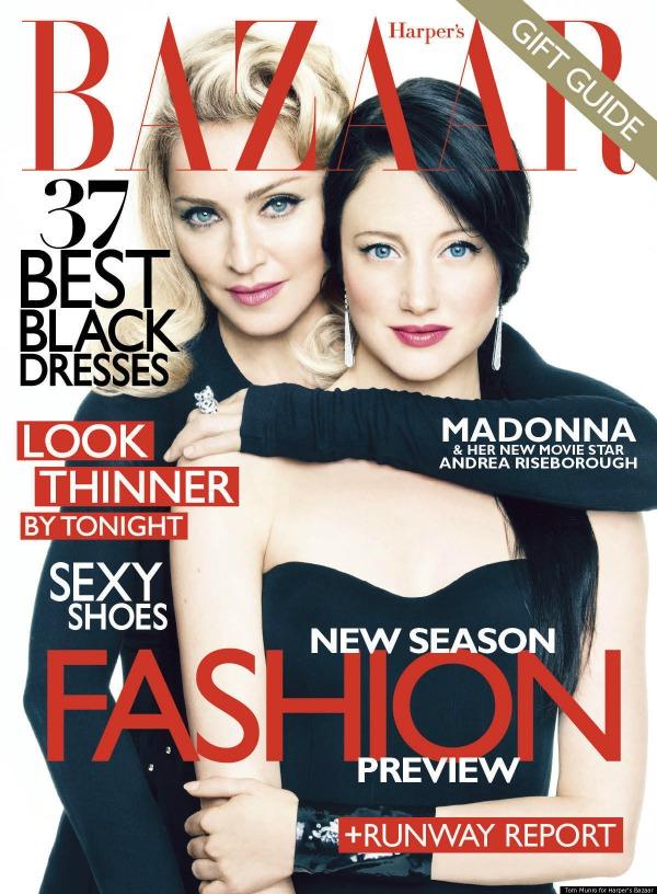 prva naslovnica  Moda na naslovnici: Madonna, direktorski rez!