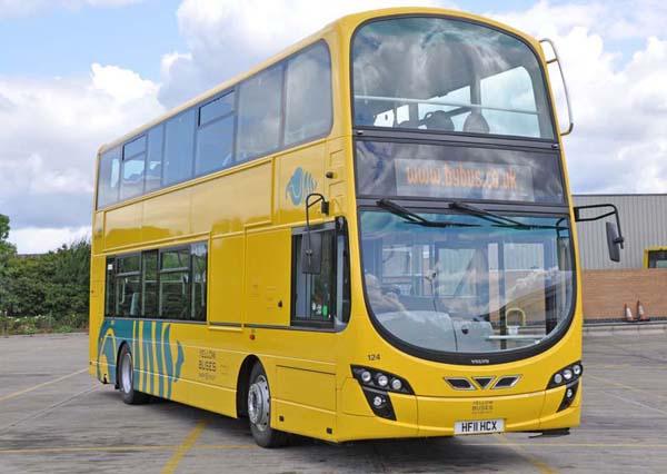 Žuti double decker #2020 @BG: Seljobus autobuske linije 504 i mesec jul 505
