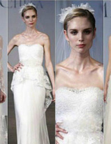 Wannabe Bride: Venčanice sa njujorške nedelje mode za 2013/2014. godinu