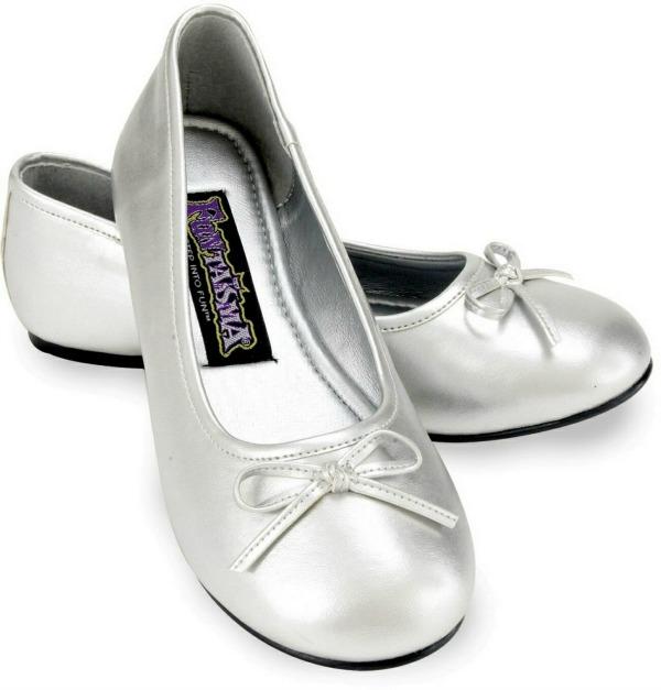 6.Srebrne baletanke Osam čarobnih, otmenih, srebrnih cipelica! (2. deo)