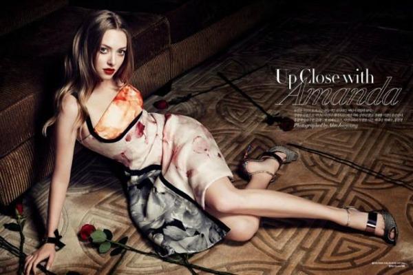 "AmandaSeyfried SL7 ""Harper's Bazaar Korea"": Amanda Seyfried u krupnom planu"