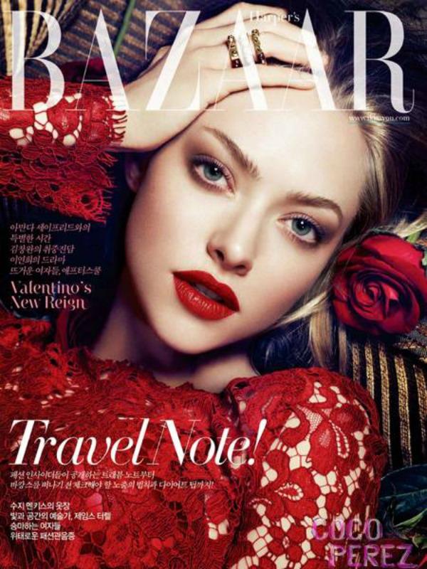"Amanda Seyfried Harpers Bazaar Korea SL1 ""Harper's Bazaar Korea"": Amanda Seyfried u krupnom planu"
