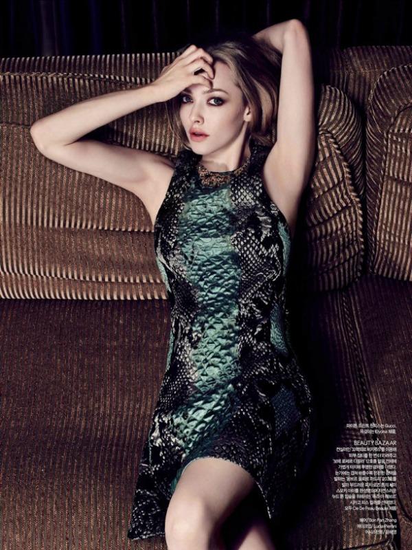 "Amanda Seyfried Harpers Bazaar SL3 ""Harper's Bazaar Korea"": Amanda Seyfried u krupnom planu"