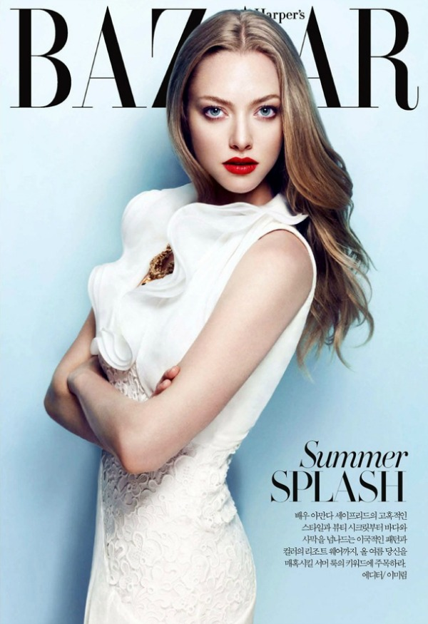 "Amanda Seyfried SL6 ""Harper's Bazaar Korea"": Amanda Seyfried u krupnom planu"