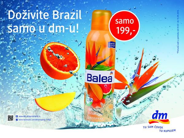 Balea dezodorans DM: Spremite se za egzotično leto!