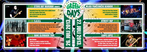 Bard Green Days Flyer S2 Drugi Green Days Fest