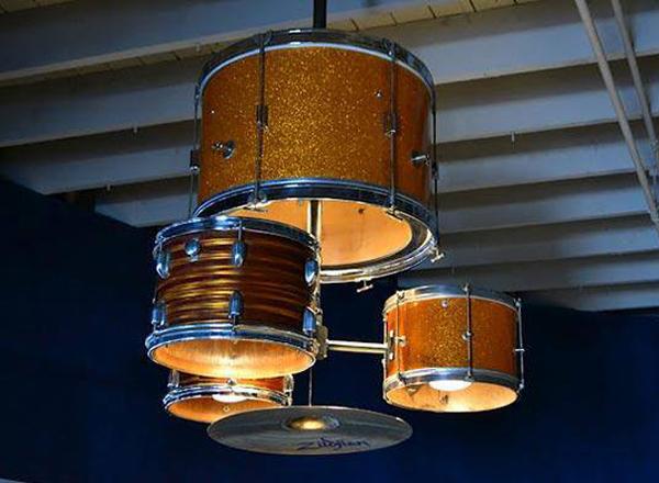 Bubnjevi kao luster Osvetlite vaš dom: Maštoviti lusteri