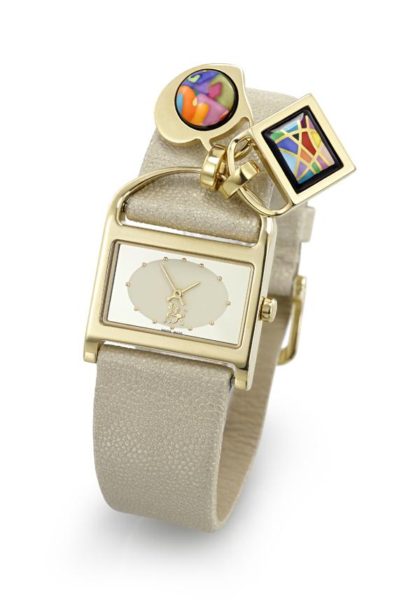 Charm Watch Gold JOY1 3 FREYWILLE: Charms Watch Princess Victoria