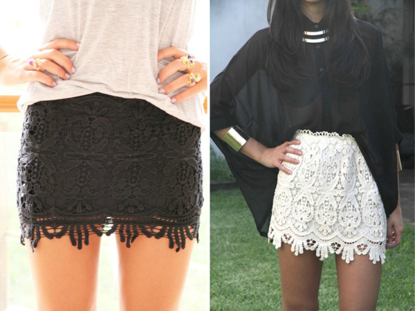 Cipka Suknje kojima nećete moći da odolite ovog leta (1. deo)