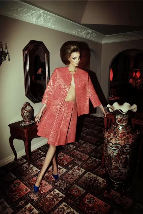 Dajana Antic SL2 Dress to Kill Magazine by Richard Bernardin: Očajna domaćica Dajana Antić