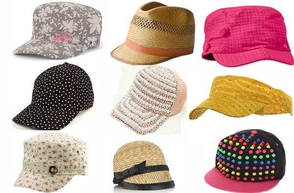 Devet kacketa Zaštitnici od sunca: Kape i šeširi