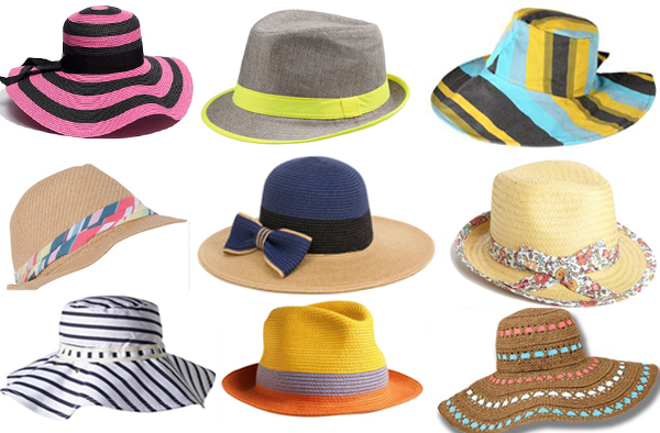 Devet sesira Zaštitnici od sunca: Kape i šeširi