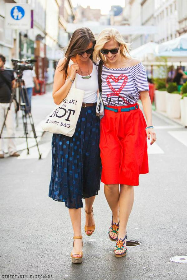 Dve devojke 2 Street Style: Fantastično leto u Zagrebu (1. deo)