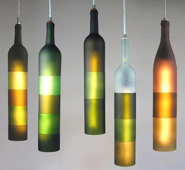 Flase koje svetle Osvetlite vaš dom: Maštoviti lusteri