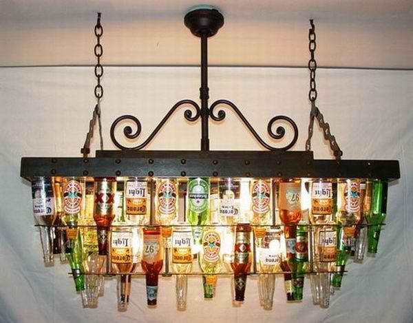 Flase u sluzbi lustera Osvetlite vaš dom: Maštoviti lusteri