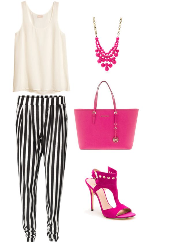Look73 Look of the Day: Pruge i pink