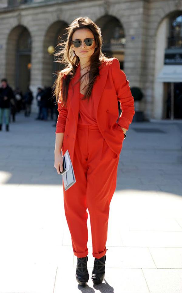 Miroslava Deset poznatih dama u crvenim pantalonama