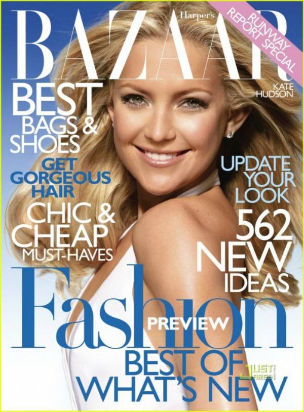 Moda na naslovnici Kate Hudson naslovnica 1 Moda na naslovnici: Kate Hudson kao glamurozna diva