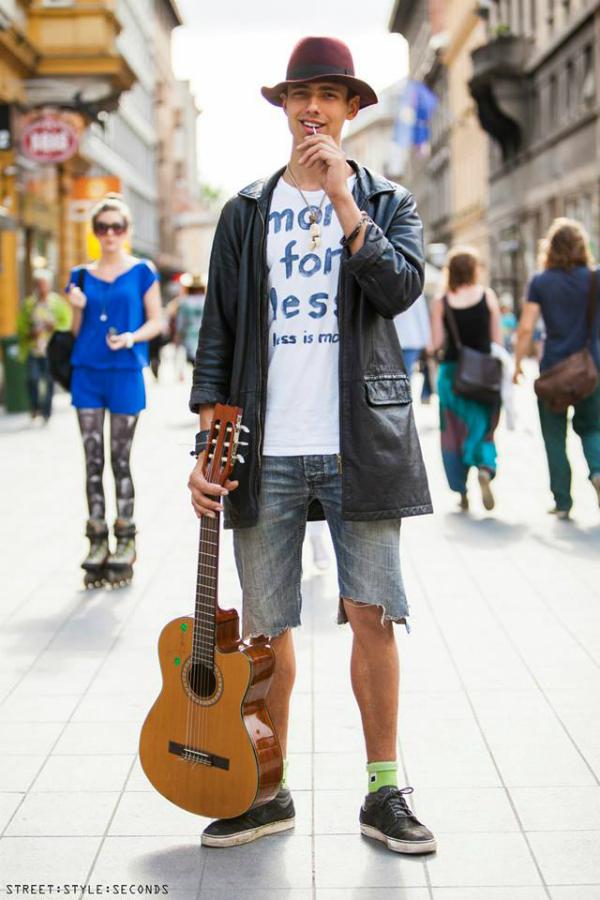 Momak sa gitarom Street Style: Fantastično leto u Zagrebu (2. deo)