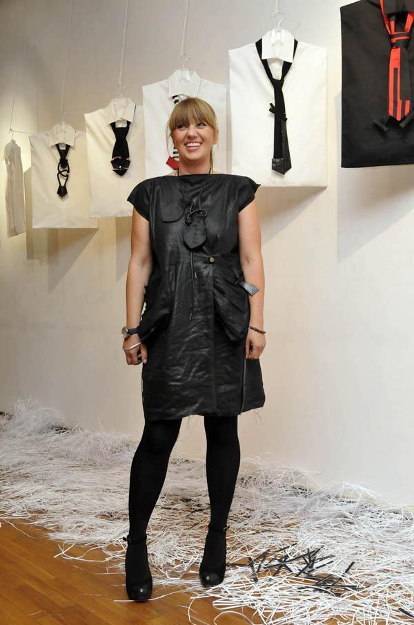 Natasa Saric Kolekcija srpskih kravata na Nedelji mode u Berlinu