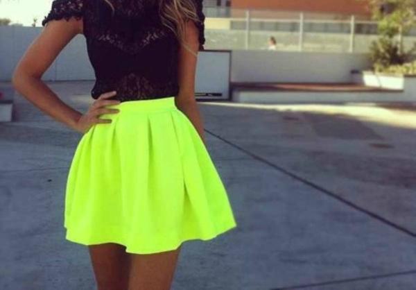 Neon Suknje kojima nećete moći da odolite ovog leta (1. deo)