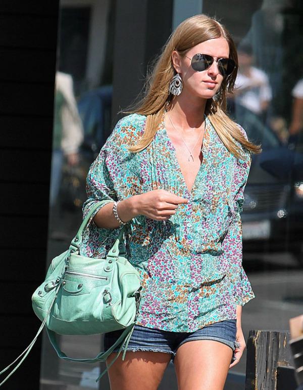 Nicky Hilton Balenciaga SL9 Sve torbe: Nicky Hilton
