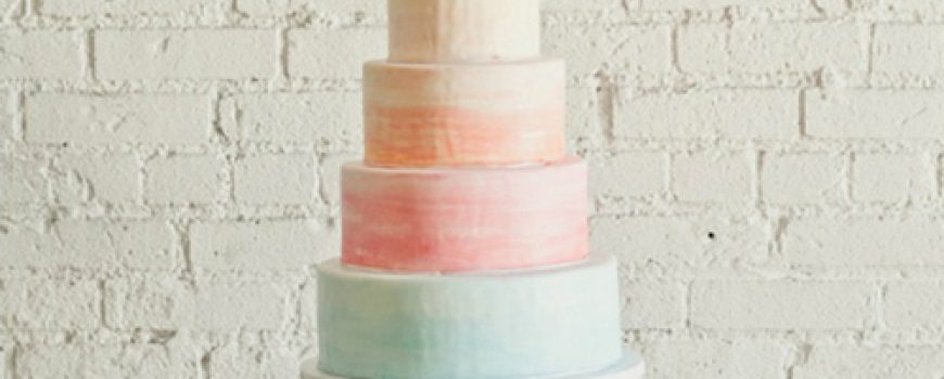 Wannabe Bride: Fantastične ombre torte