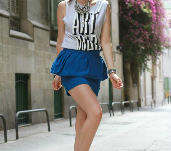 Peplum Suknje kojima nećete moći da odolite ovog leta (2. deo)