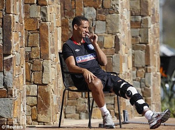 Rio Ferdinand Najbizarnije sportske povrede