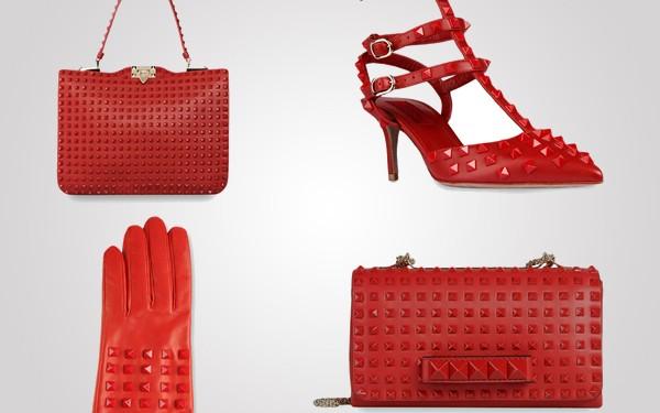 Samo mali deo iz limited edition kolekcije Modni zalogaj: Nova kolekcija crvenih cipela i torbi Valentino