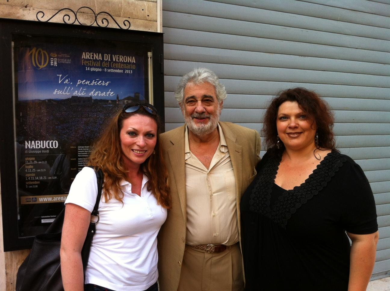 Sanja Anastasia Plasido Domingo Tatjana Meljnicenko Naša operska pevačica Sanja Anastasia niže uspehe po svetu