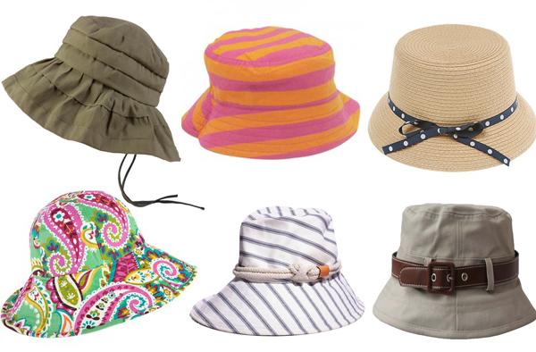 Sest sesirica Zaštitnici od sunca: Kape i šeširi