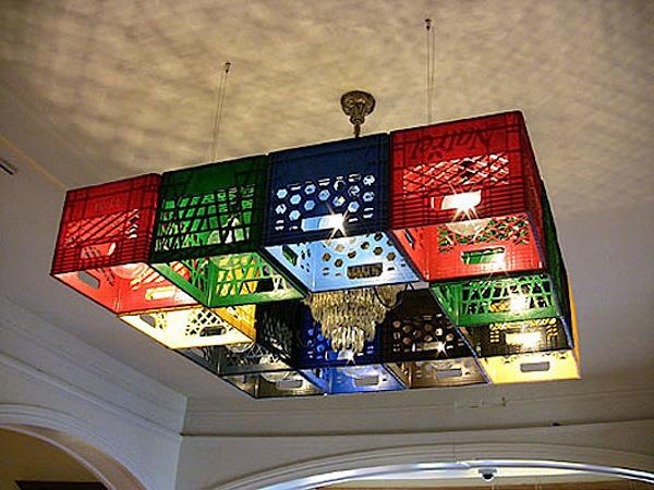 Svetlece gajbe Osvetlite vaš dom: Maštoviti lusteri