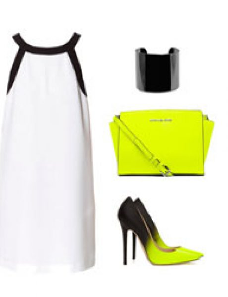 Look of the Day: Klasika i neon