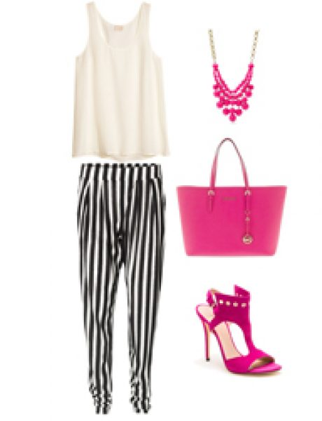 Look of the Day: Pruge i pink