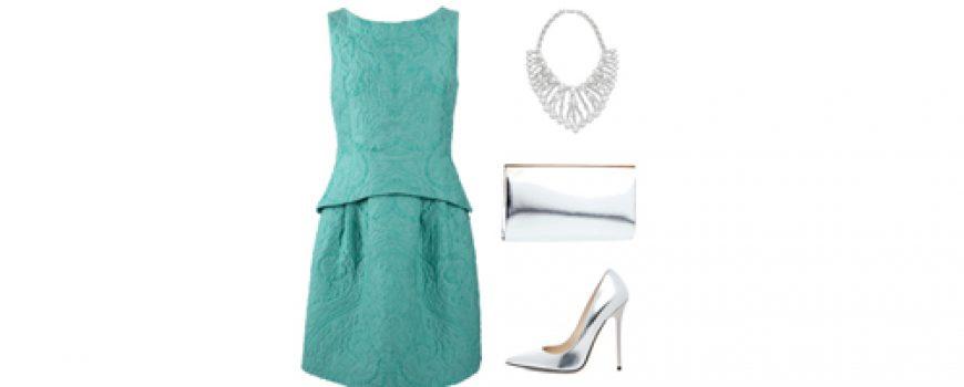 Look of the Day: Srebrna elegancija
