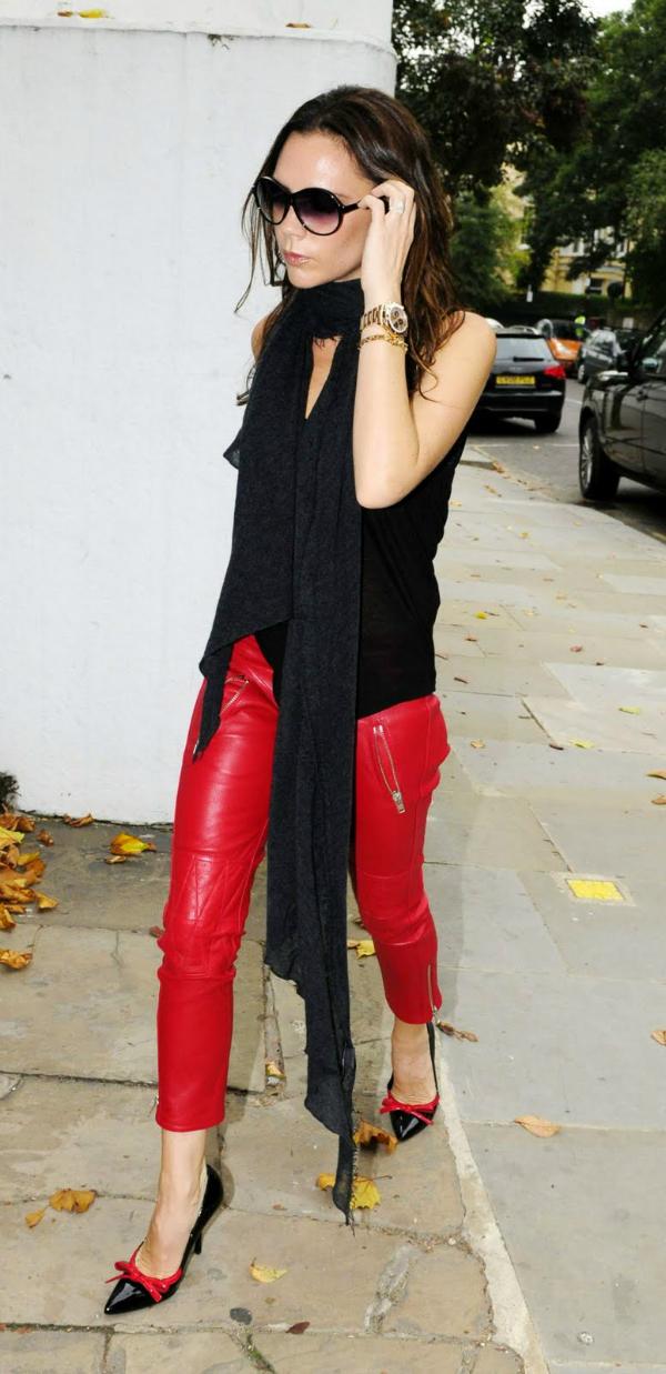 Viktorija Deset poznatih dama u crvenim pantalonama