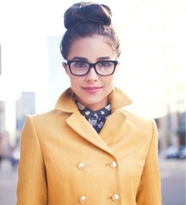Zuti kaput Deset načina da izgledate očaravajuće sa naočarima