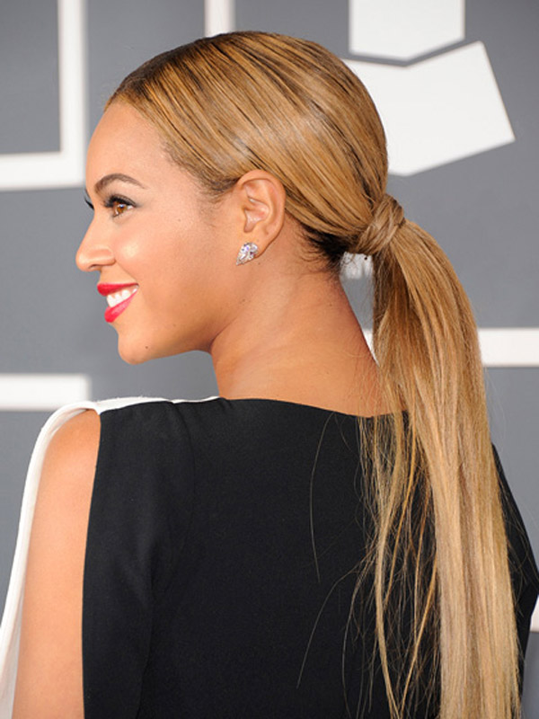 beyonce ponytail hairstyle Beauty look: Konjski rep