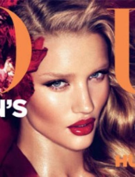 "Moda na naslovnici: Rosie Huntington, femme fatale magazina ""Vogue"""