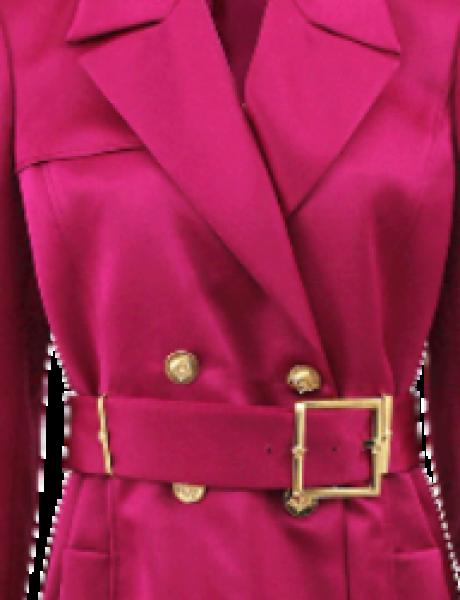 Modna opsesija dana: Versace satenski mantil