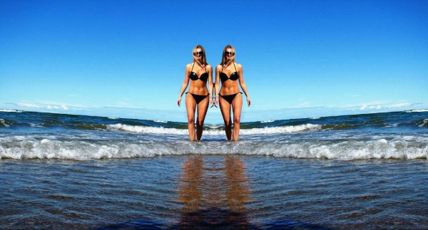 neira1 Wannabe Photo Wall: Bikini pozdrav