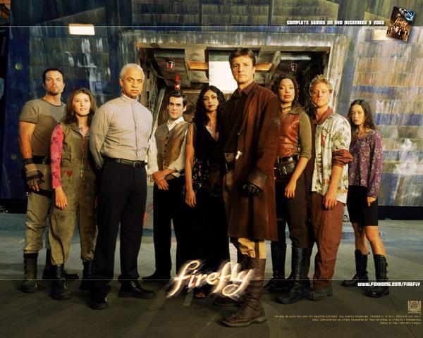 slika 1 Firefly cast Serija četvrtkom: Firefly