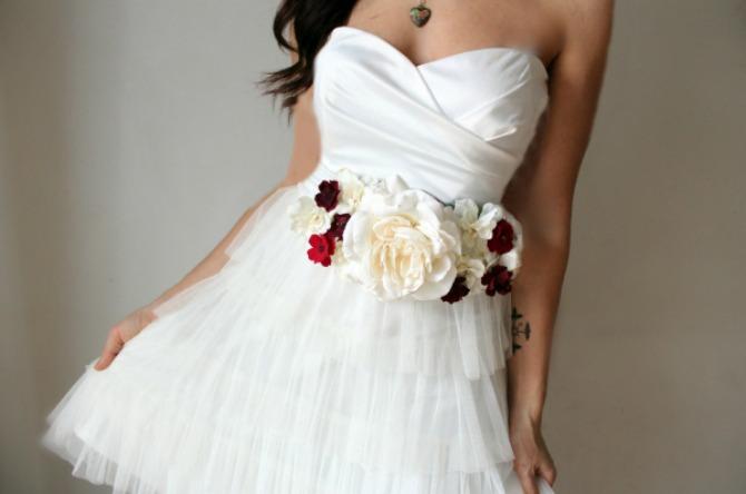 1 bright bold Wannabe Bride: Najlepši kaiševi na venčanicama