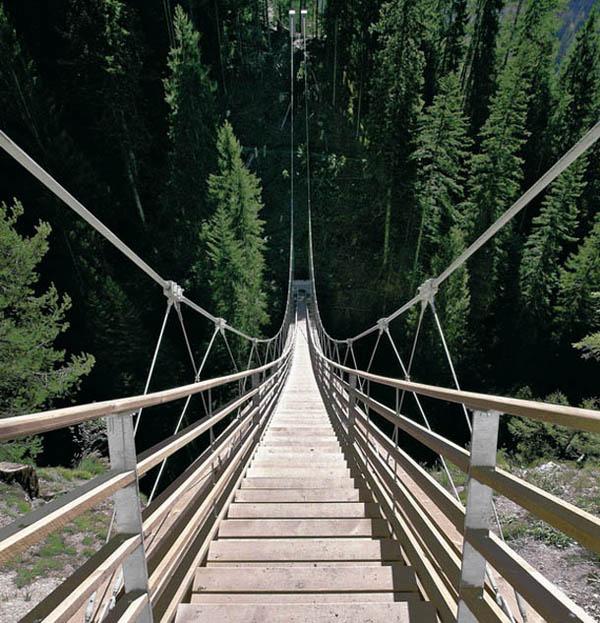 Drveni most stepenice Najslavnije stepenice na svetu
