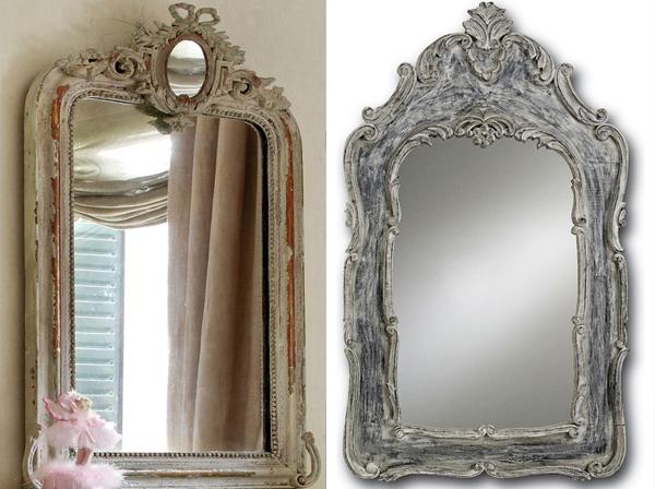 Dva drvena rusticna rama Svakodnevne sitnice: Ogledala