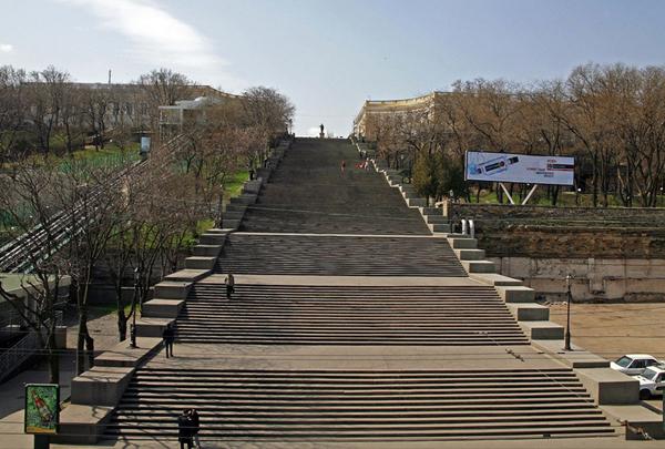 Gigantsko gradsko kameno stepeniste Najslavnije stepenice na svetu