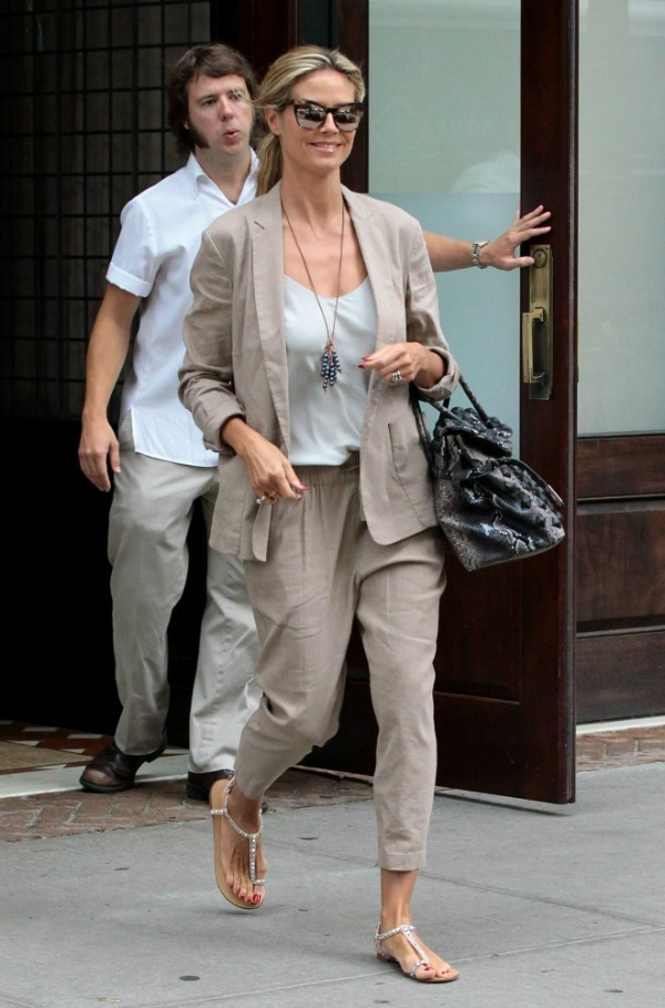 Heidi Klum 3 Street Style: Heidi Klum
