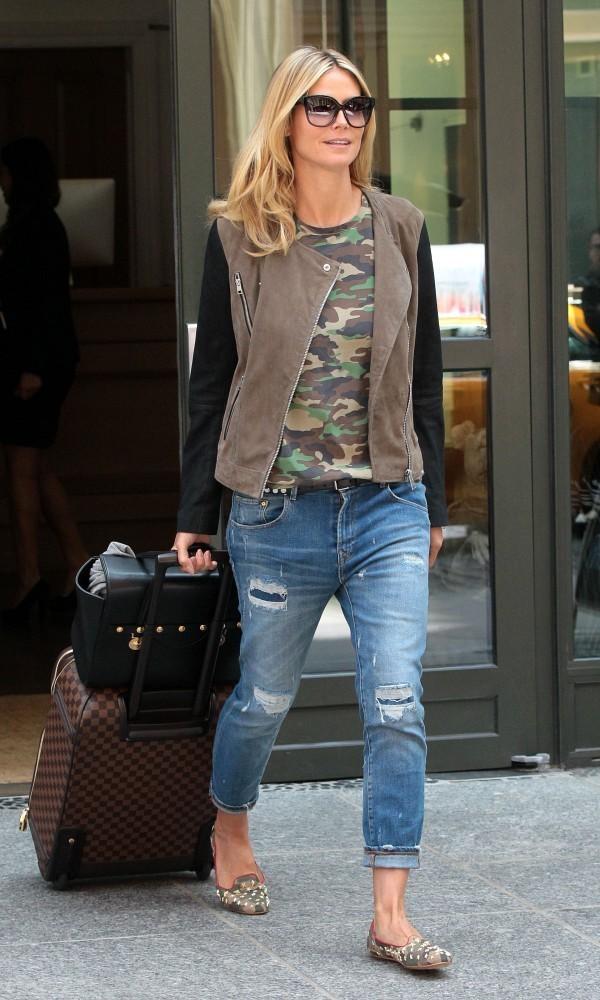 Heidi Klum 6 Street Style: Heidi Klum